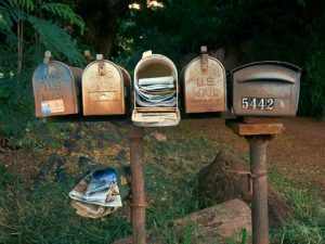 mail in mail boxes for clutter freehome